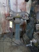 CARBIDE DOUBLE END GRINDER (on stand)