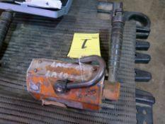 LIFTING MAGNET, SAFEHOLD, 1,100 LB. CAP.