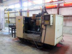 CNC VERTICAL MACHINING CENTER, FADAL MDL. VMC4020HT, new 1990, Fadal CNC88 CNC control,