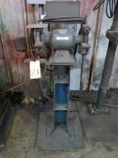 """DOUBLE END GRINDER, DELTA, 6"""" (on stand)"""