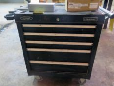 ROLLING TOOLBOX, WORKSMART, 5-drawer