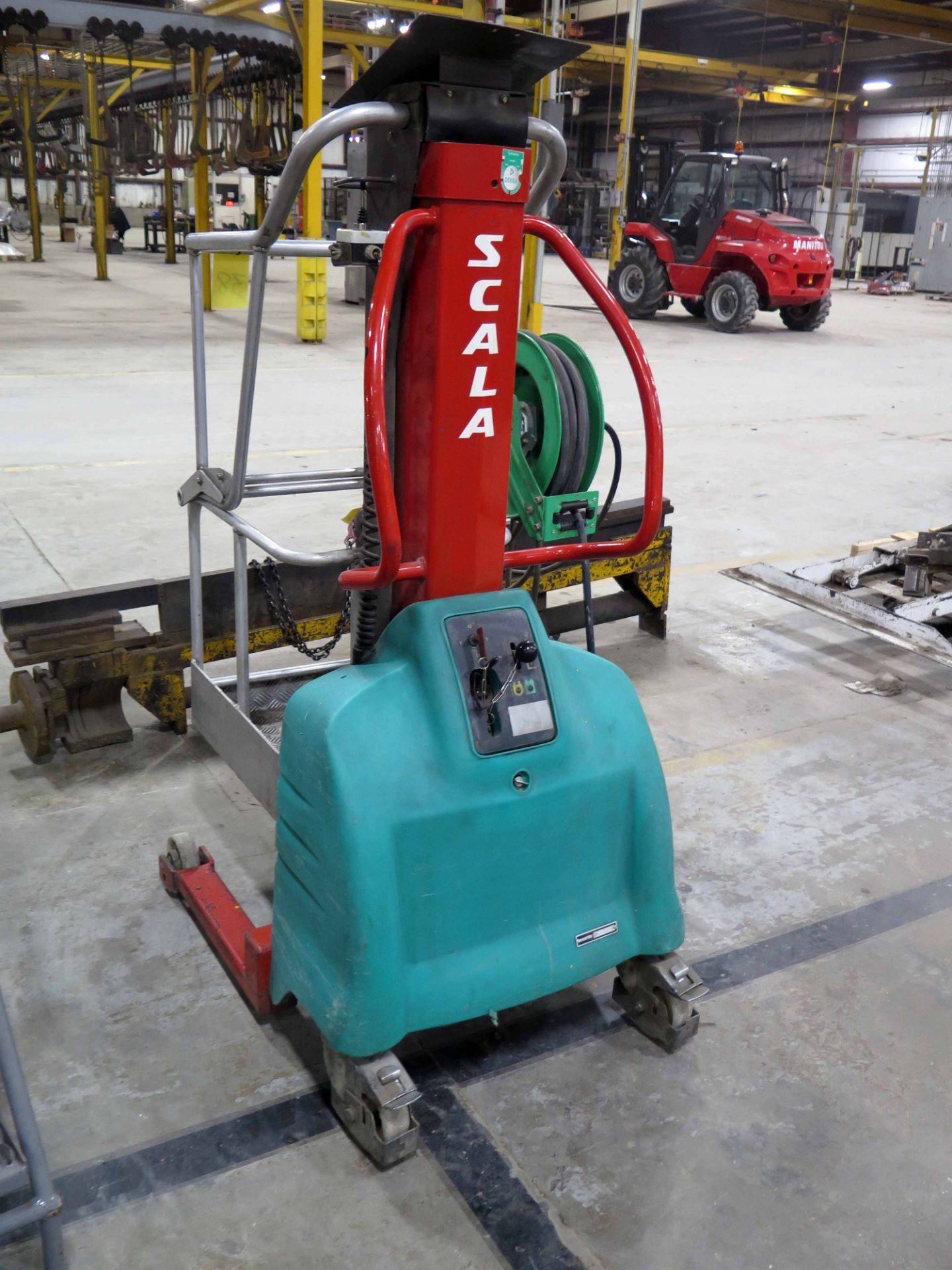 MANITOU ELECTRIC MANLIFT, MDL. SCALA, new 2005, 265 lb. cap., S/N 506986 - Image 2 of 2