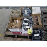 LOT OF CASTERS, large quantity & assorted sizes (most are new in box)