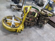 LOT OF DRUM ROLLER CARTS (APPROX. 20)