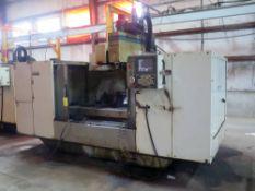 CNC VERTICAL MACHINING CENTER, FADAL MDL. VMC6030HT, new 1991, Fadal CNC88 CNC control,
