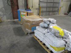 LOT OF PLASTIC MOLD RESIN (on three pallets)
