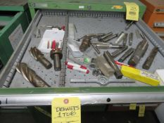 LOT CONSISTING OF: drills, taps, cutting bits (located in drawers 1 thru 8)