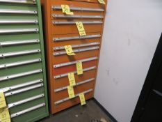 STORAGE CABINET, 10-drawer, H.D. (delayed removal) (contents not included)