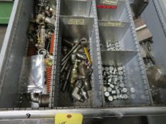 LOT CONSISTING OF: assorted air & hydraulic parts (located in drawer 9)