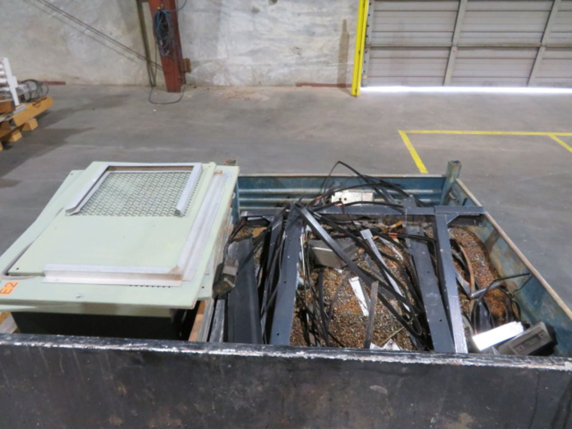 LOT CONSISTING OF: assorted steel, surplus, remnant, discontinued molds, machine pieces (on three - Image 4 of 4