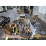 LOT CONSISTING OF: assorted electrical & electronic, repair parts (out of service)