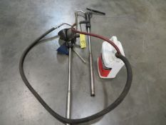 LOT OF HAND OPERATED PUMPS (2)