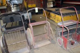 LOT OF TORCH CARTS
