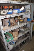 LOT CONTENTS OF TOOL CRIB, including: wrenches, welding supplies, etc. (excluding Lot 182)