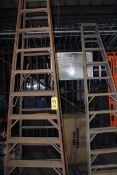 LOT OF A-FRAME LADDERS