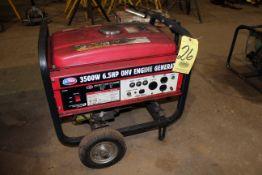 GENERATOR, ALL POWER, gas pwrd., 3,500 watt, 6.5 HP