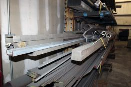 """LOT OF STAINLESS STEEL, 3"""" sq. stock, assorted"""