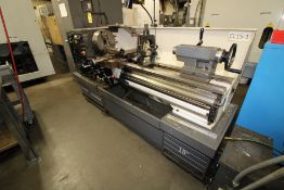 """ENGINE LATHE, CLAUSING COLCHESTER 15"""" X 50"""", new 2001, electronic variable spd., 2,000 RPM spdl"""