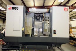 """4-AXIS HORIZONTAL MACHINING CENTER, HAAS MDL. EC1600, new 6/2012, 64"""" x 36"""" table, 30"""" built-in"""