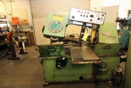 """AUTOMATIC HORIZONTAL BANDSAW, DOALL MDL. C1213A, 1-1/2"""" blade size, auto. index, S/N 412-82136"""