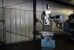 CNC BED TYPE VERTICAL TURRET MILL, TRAK MDL. DPM, Trak Mdl. AGE3 CNC control, Microdrop mist coolant
