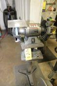 """PEDESTAL BENCH GRINDER, JET 8"""", 1 HP motor"""