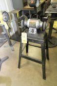 """PEDESTAL BENCH GRINDER, CRAFTSMAN 6"""", 1/5 HP motor"""