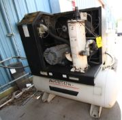 ROTARY SCREW AIR COMPRESSOR, INGERSOLL RAND MDL. SSR-EP25, new 2000, 97 CFM, 25 HP motor, 90 gal.