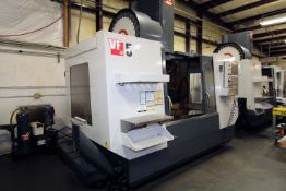 """5-AXIS VERTICAL MACHINING CENTER, HAAS MDL. VF5/50, new 9/2011, 54"""" x 24"""" table, 50"""" X, 26"""" Y, 25"""""""