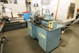 PRECISION TOOLROOM LATHE, VICTOR MDL. 618E, variable spd. spdl. drive from 130-3000 RPM, variable