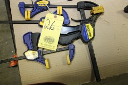 LOT OF QUICK GRIP CLAMPS