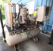 ROTARY SCREW AIR COMPRESSOR, F.S. CURTIS MDL. RS24A-AEB101, new 2006, RS Series, 125 PSI, 25 HP