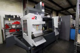 """5-AXIS VERTICAL MACHINING CENTER, HAAS MDL. VF2, new 12/2017, 36"""" x 14"""" table, 30"""" X, 16"""" Y, 20"""" Z-"""