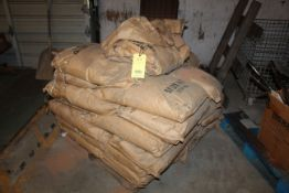 LOT OF WALNUT SHELL (in 50 lb. bags - on partial pallet) (Located at: Accurate, Inc., 1200 East