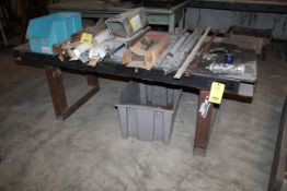 """METAL WORKTABLE, 36"""" x 82"""", H.D. (Located at: Accurate, Inc., 1200 East 4th Street, Taylor, TX"""