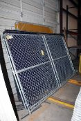 LOT CONSISTING OF: welding screens & portable security fencing (Located at: Accurate, Inc., 1200
