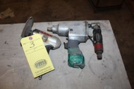 LOT OF PNEUMATIC TOOLS, right angle (Located at: Accurate, Inc., 1200 East 4th Street, Taylor, TX