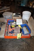 LOT CONSISTING OF: misc. nuts, bolts, electrical connectors (Located at: Accurate, Inc., 1200 East