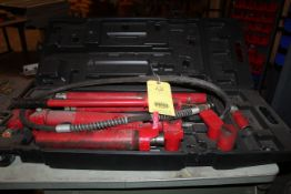 HYDRAULIC PUMP, w/assorted rams, in carrying case (Located at: Accurate, Inc., 1200 East 4th Street,