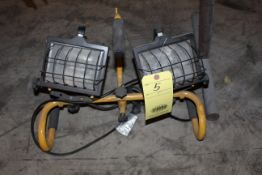 PORTABLE HALOGEN LIGHT SET, (2) fixtures (Located at: Accurate, Inc., 1200 East 4th Street,