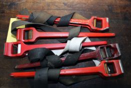 """LOT OF STRAP WRENCHES, TITAN 21316, 18"""""""