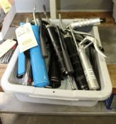 LOT CONSISTING OF: grease guns & oil cans