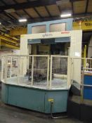 "4-AXIS HORIZONTAL MACHINING CENTER, NIIGATA MDL. HN80D, new 2007, Fanuc 16i-MB CNC control, 31.5"""