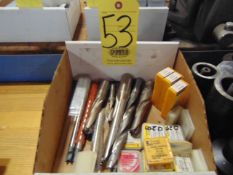 LOT OF INSERT DRILLS, assorted (in one box)