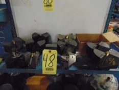 LOT OF ABS DRILL HEADS, assorted