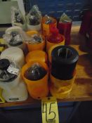 LOT OF CAT-50 TAPER TOOL HOLDERS (10), assorted
