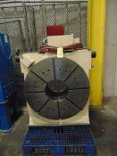"""CNC ROTARY TABLE, TSUDAKOMA MDL. RNCV1001K, 39.97"""" faceplate, 13-7/8"""" bore, S/N 076816"""