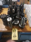 LOT OF CAPTO C8 TOOLING, assorted