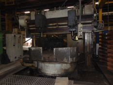 """TWIN SPINDLE DRILL, MOLINE MDL. HD68 """"THE HOLE HOG LINE"""", 72"""" rotary tbl., (2) spline drive"""