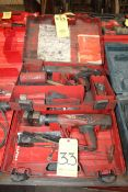 LOT OF POWDER ACTUATED METAL STAMPING TOOLS (2), HILTI MDL. DX462